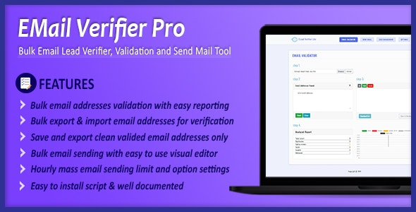 Download Email Verifier Pro v1.0.0