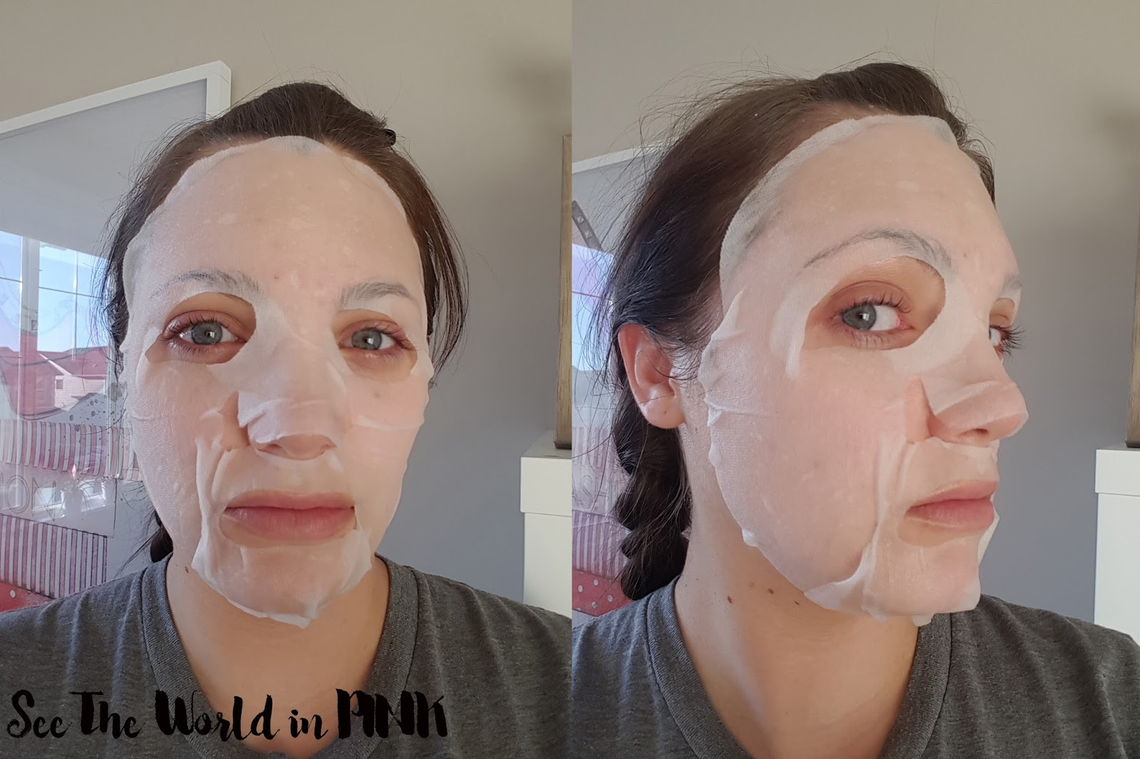 SNP Bird's Nest Aqua Ampoule Mask review