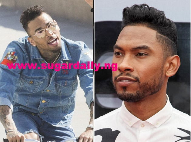 chris brown new hair style conk hairstyle chris brown hair 1195
