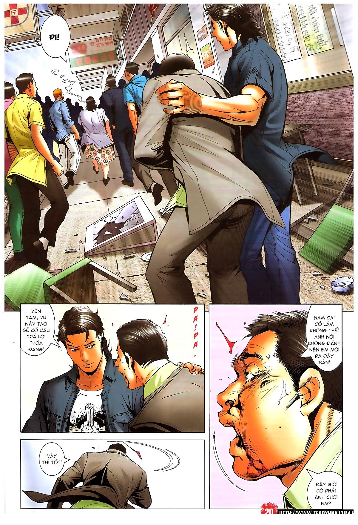 Người Trong Giang Hồ chapter 1648: tự tìm đường chết trang 18
