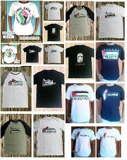Daftar Harga Kaos Palestina