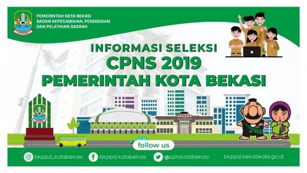 Lowongan Kerja CPNS Kota Bekasi Tahun 2019