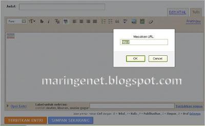 Tampilan Lama Blogger, link