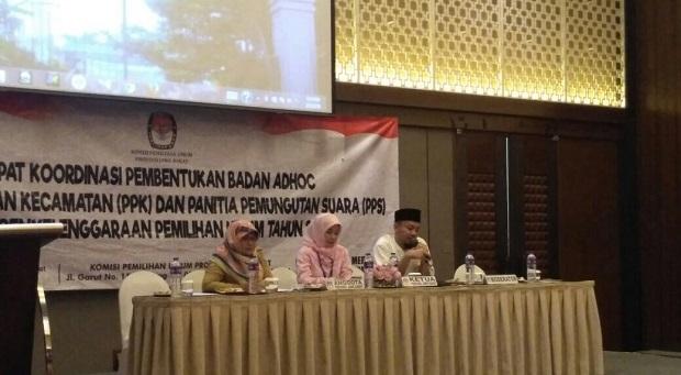 Butuh Pertimbangan Matang, Pembentukan PPK dan PPS Pemilu 2019