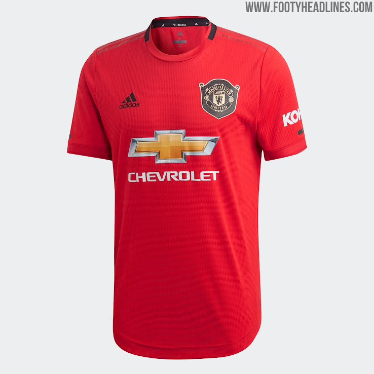 san francisco b53e5 4faa7 Manchester United 19-20 Home Kit Released - Footy Headlines