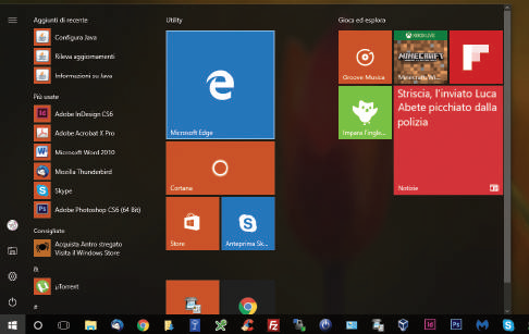 Novità browser Edge Windows 10 nuova icona