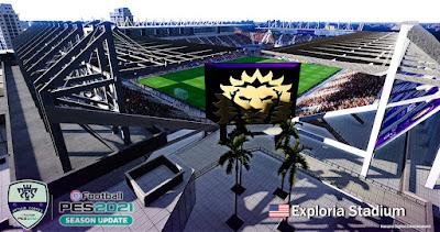 PES 2021 Exploria Stadium