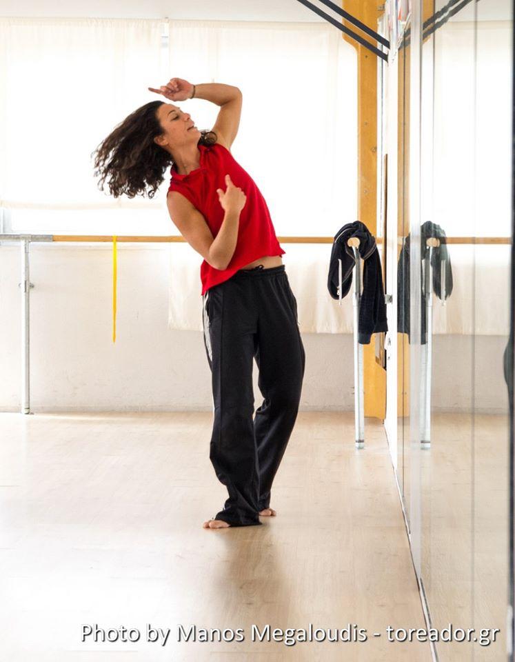 Σεμινάριο σύγχρονου χορού με τη Νατάσσα Μπρουζιώτη