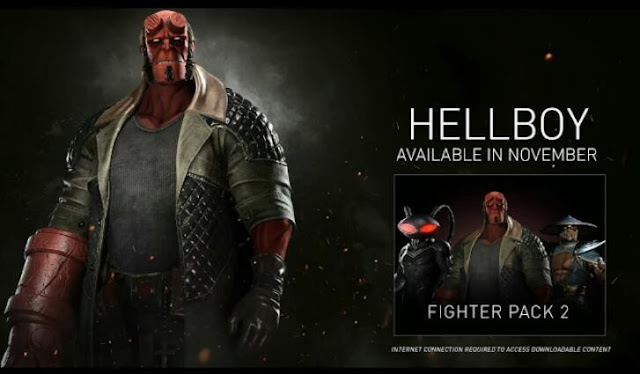 Trailer for Hellboy released - Injustice 2