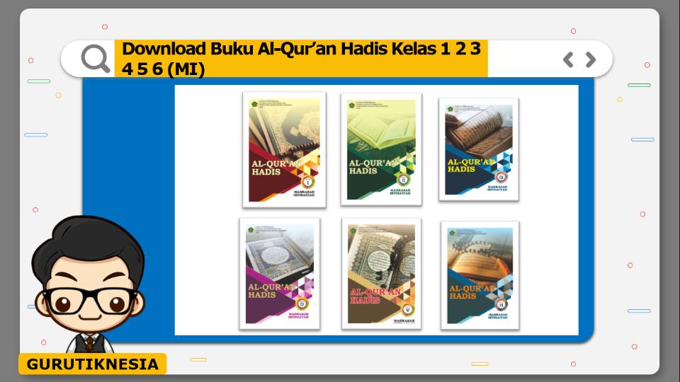 download gratis buku pdf al-qur'an hadis untuk mi