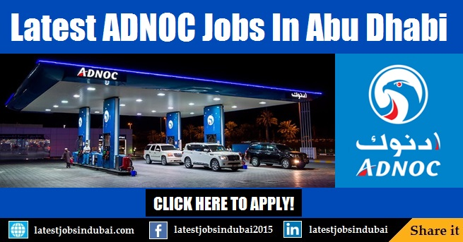 ADNOC careers and jobs in Abu Dhabi