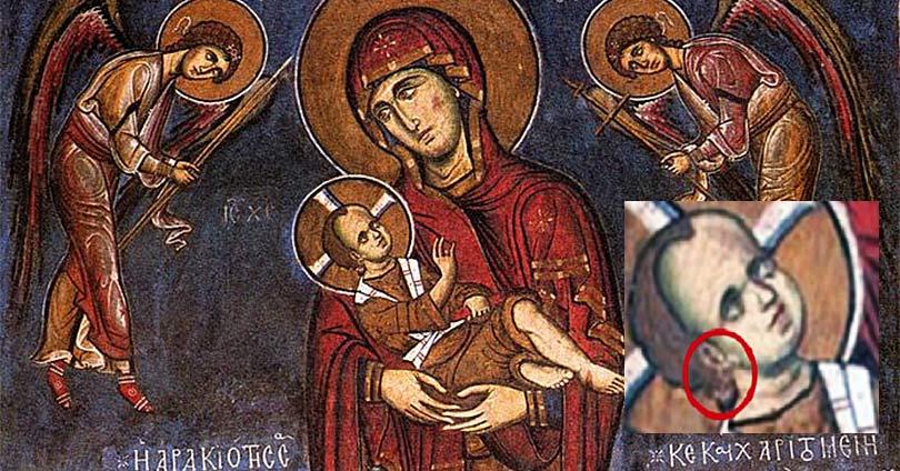 Γιατί-ο-Χριστός-Φορά-Σκουλαρίκι-σε-Τοιχογραφία