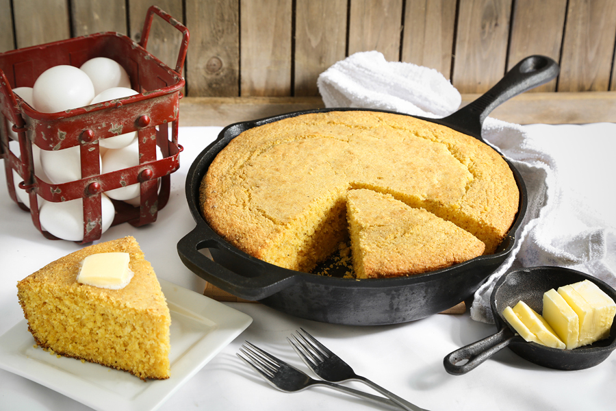 Really Good Southern Cornbread Sprinkle Bakes
