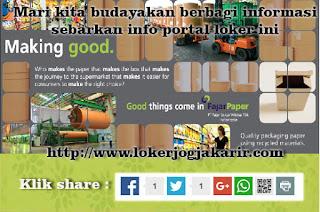 Info Loker jogja karir Loker Lowongan kerja PT. FAJAR SURYA WISESA, Tbk Jogja