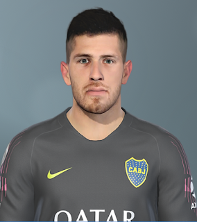 PES 2019 Faces Agustín Rossi by SeanFede