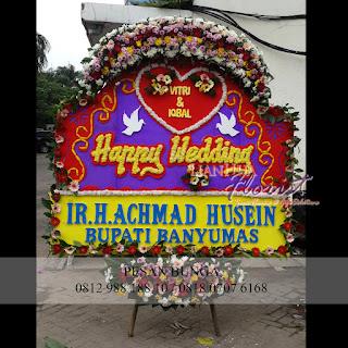 Flowers Advisor, Jual Bunga Papan Murah Jakarta, Toko Bunga Papan, Toko bunga papan murah dijakarta, jual bunga papan happy wedding
