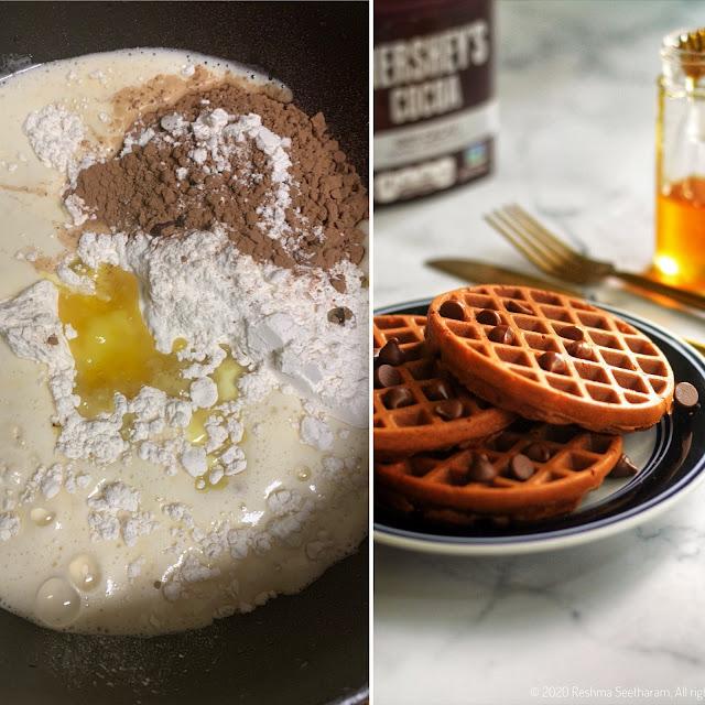 Chocolate waffle recipe