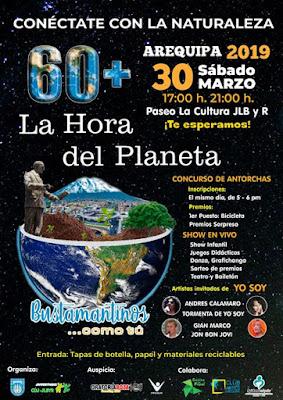 La hora del planeta Arequipa