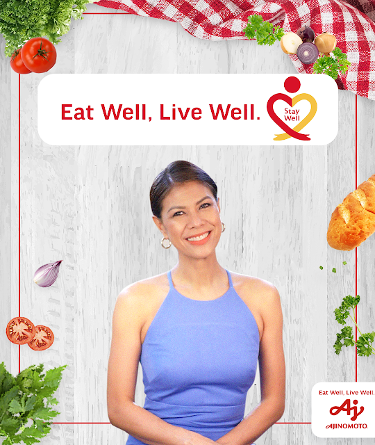 "Ajinomoto and GMA-7 launch ""Eat Well, Live Well. Stay Well"" web series"