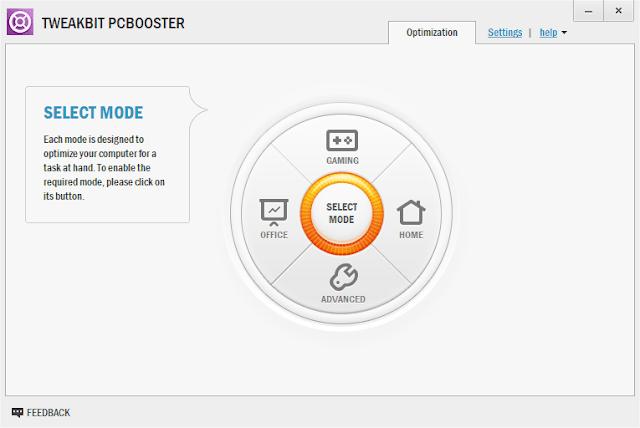 Screenshot TweakBit PCBooster 1.8.4.4 Full Version