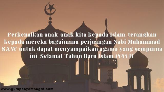 Gambar Ucapan Selamat Tahun Baru Islam 1443 H Melayu 14