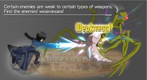 SAO MD - Weapon Characteristics and Weaknesses