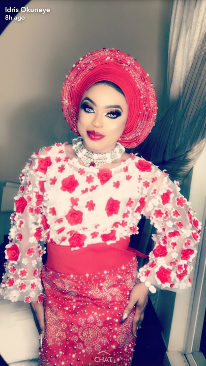 ''I'm not Married'' Bobrisky Cries Out