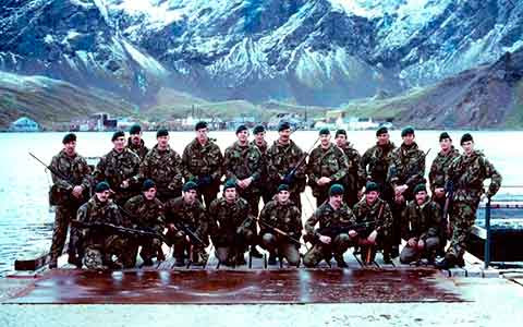 Perang Falkland Britain