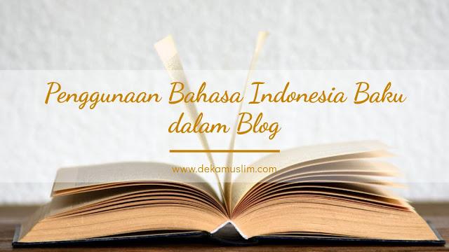 bahasa-indonesia-baku-dalam-blog