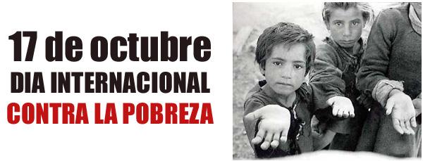 Resultado de imagen de Día Mundial para la Erradicación de la Extrema Pobreza
