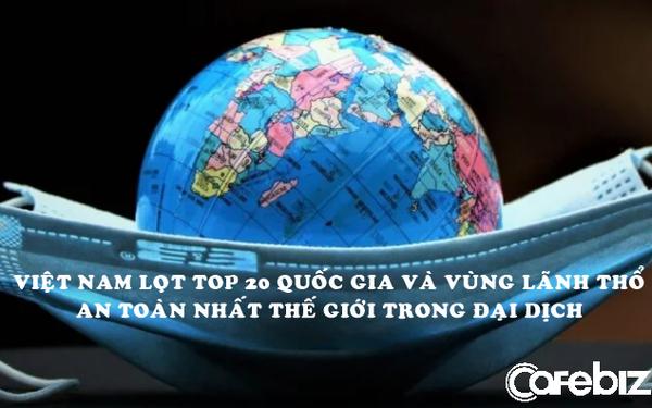 Việt Nam trong 100 quốc gia và vùng lãnh thổ an toàn nhất thế giới
