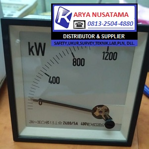 Jual Kilowatt Meter 3 Phase Size 96 x 96 di Sulawesi