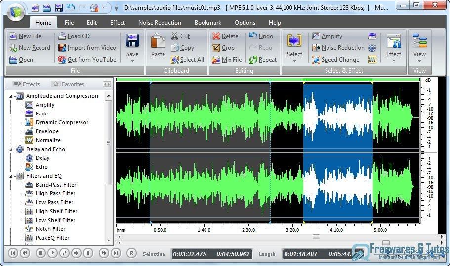 Th me 30 les 10 meilleurs logiciels gratuits d dition - Logiciel pour couper musique mp3 gratuit ...