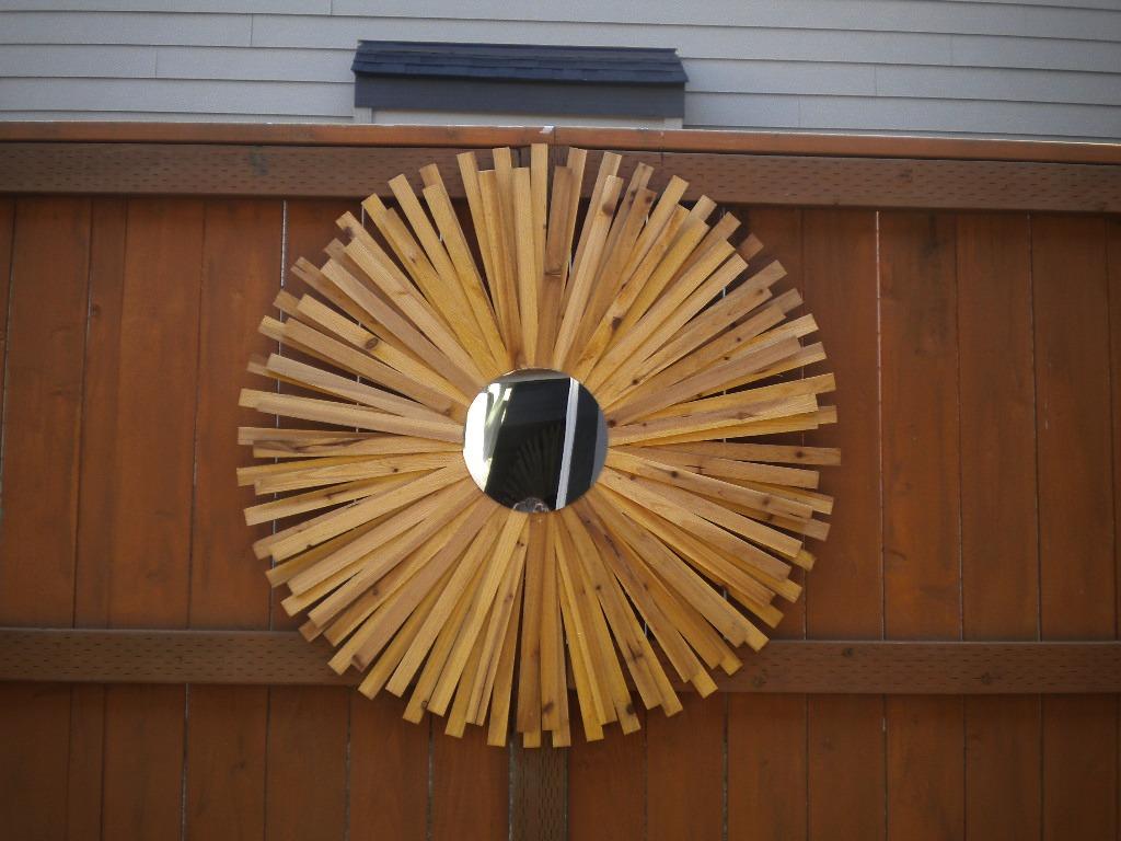 12 Sunburst Mirror Inch