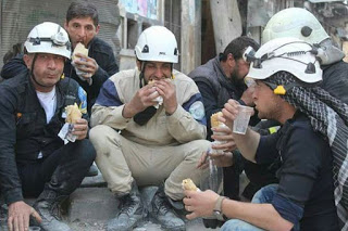 """White Helmets"" terrorists in Syria"