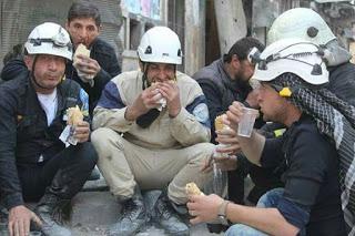 """White Helmets"" terrorists in Syria"