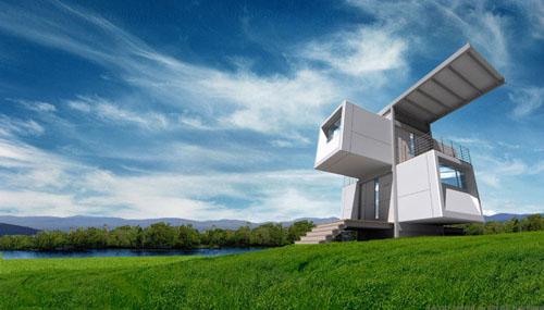Home Design  Ecological Design Futuristic House Architecture Concept