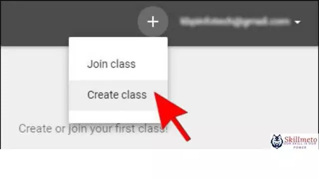 Step 2 of Google Classroom