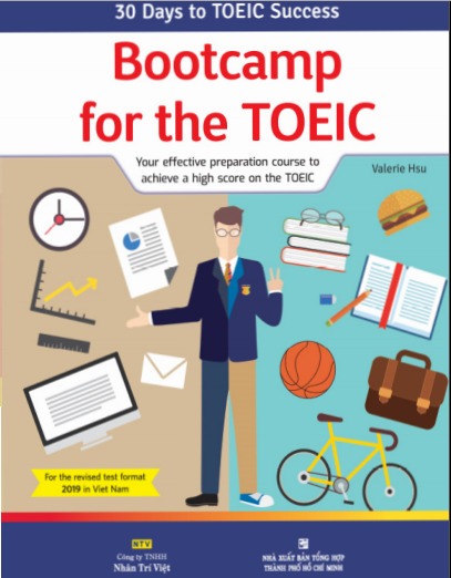 Sách Bootcamp for the TOEIC