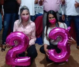 Marcilene Lima do CDDF é a candidata a prefeita de Padre Bernardo pelo partido Cidadania