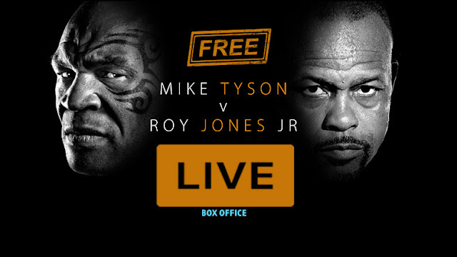 WATCH MIKE TYSON vs ROY JONES LIVE STREAM FREE