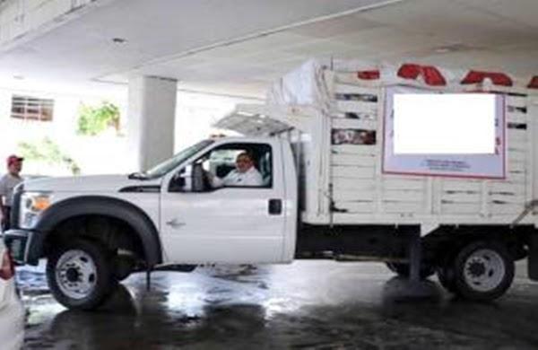 ALERTA: Roban a mano armada camioneta con ayuda para damnificados del sismo