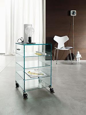 Poco espacio muebles transperentes for Muebles poco espacio