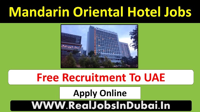 Mandarin Oriental Careers Jobs Opportunities - UAE 2021