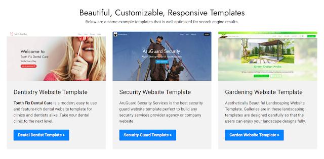 Beautiful, Customizable, Responsive Templates