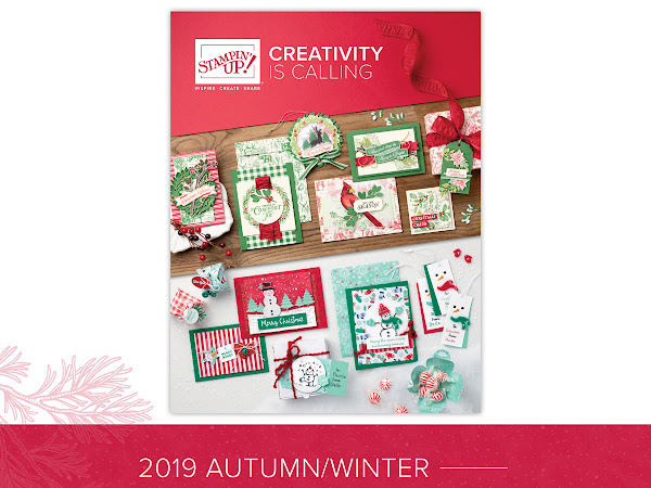 The new Stampin Up! Winter Catalogue is live.