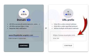 Google Webmaster Tools Url Box