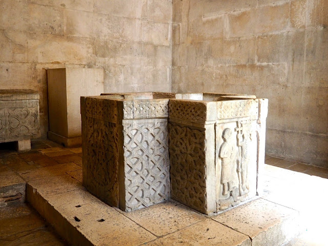 Interior of Temple of Jupiter, Diocletian's Palace, Split, Croatia