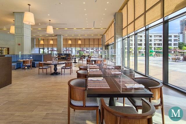 Olive Restaurant at Hilton Clark Sun Valley Resort