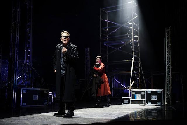 Wagner: Die Walküre - Mark Stone, Laure Melroy - Arcola Theatre's Grimeborn Festival at Hackney Empire  (Photo Alex Brenner)